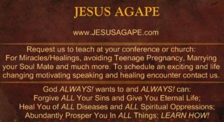 Jesus Agape
